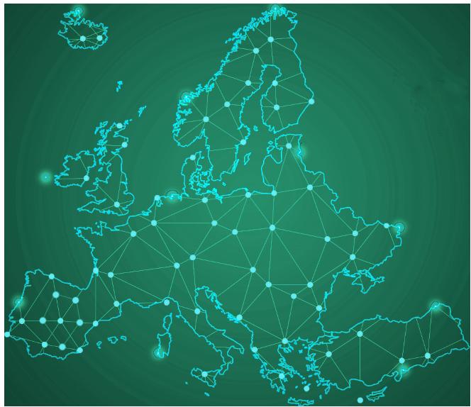 Instalación en toda Europa