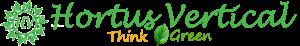 Logotipo Hortus Vertical | Jardines Verticales