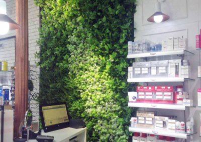 Jardín vertical farmacia
